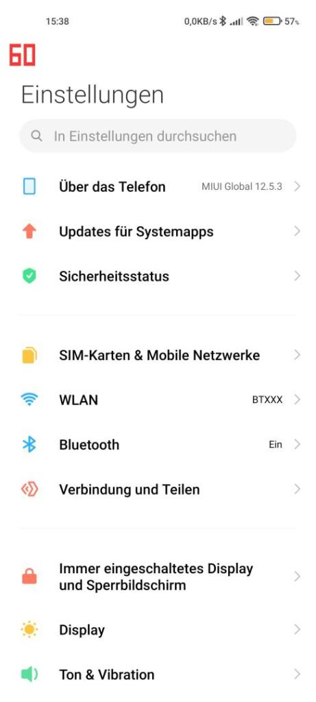 Xiaomi Mi 11 Ultra Bildwiederholrate