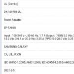 Samsung 65 Watt-Ladegerät Galaxy S22