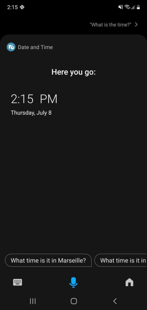 Samsung Bixby Update