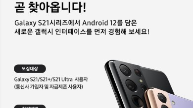 Samsung Galaxy S21 Android 12