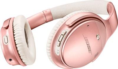 Bose QuietComfort 35 II Wireless schwarz rosa
