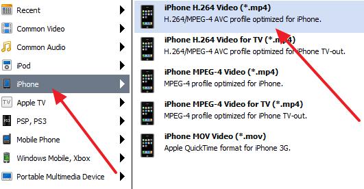 Format MP4.