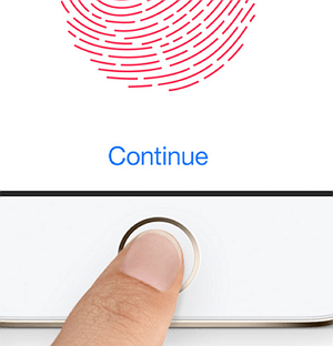 Menggunakan ID Touch