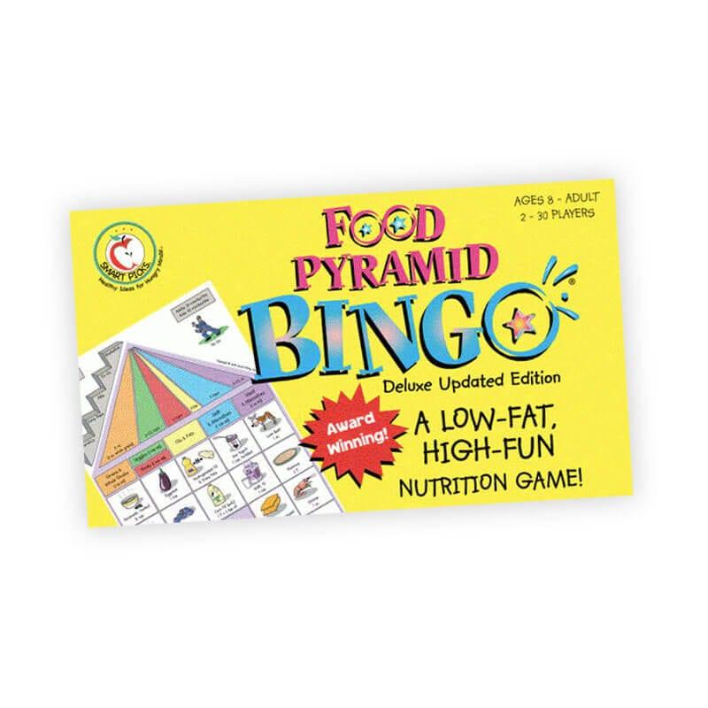 MyPlate Food Pyramid Bingo - Healthy Food Choice Game for Kids