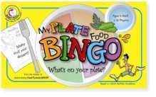 old myplate food bingo game