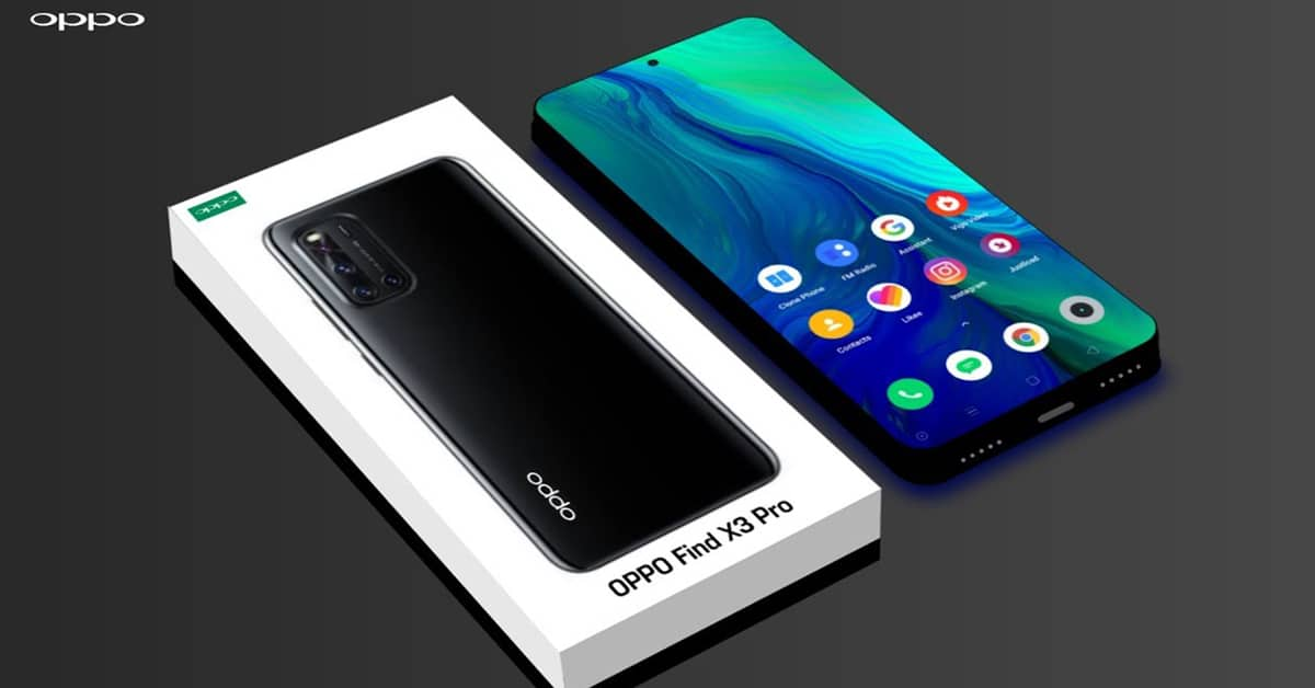 Oppo Find X3 release date and price