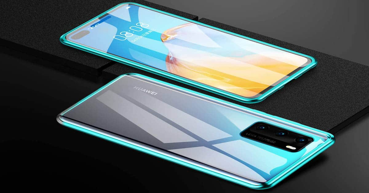 Huawei P40 4G release date and price