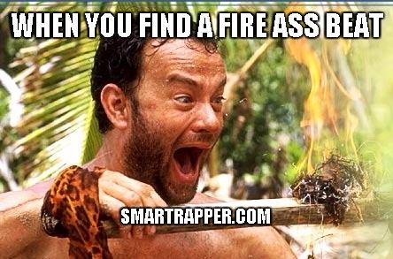 fire ass beat meme