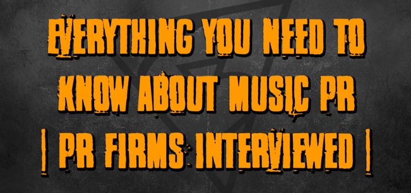 music pr firms