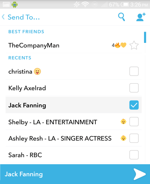 How To Suggest On SnapChat 3