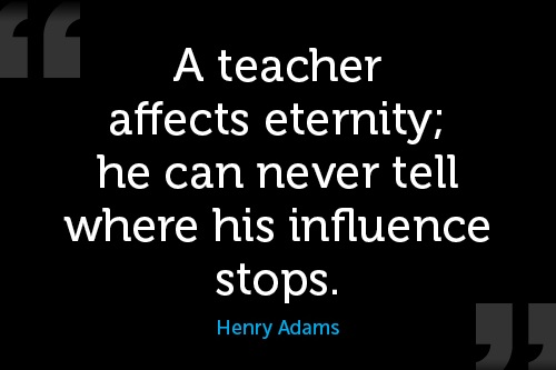 henry adams motivional monday quote