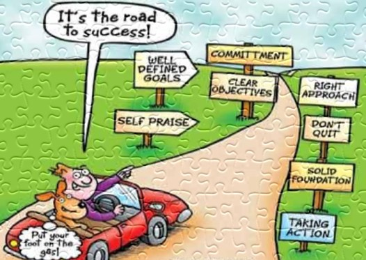 road to success life lessons