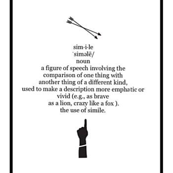 definition of metaphor