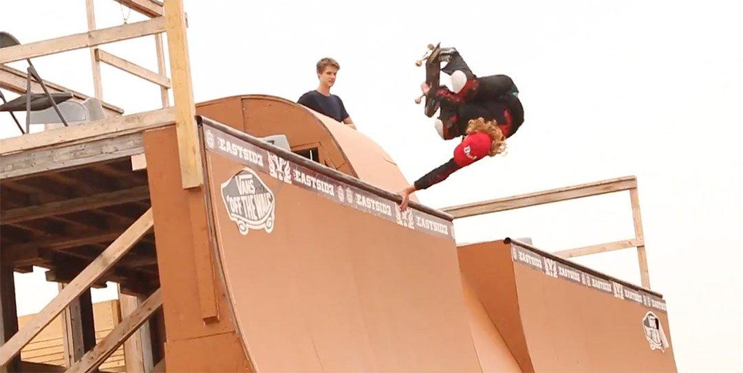 Walter Caleb Nicholls on King Skateboard