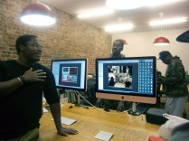 Phill shows us the photos and videos he took behind the scenes of the Pete Rock album photo shoot.