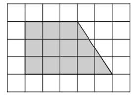 Задача 8 (№ 3821) - План местности разбит на клетки