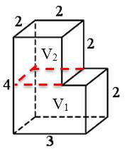 Задача 13 (№ 5462) - Деталь имеет форму изображенного на рисунке многогранника