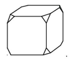 От деревянного кубика