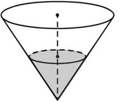 Задача 13 (№ 1710) - В сосуде, имеющем форму конуса