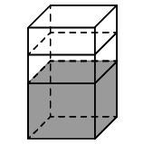 налито 5 литров воды, В бак, имеющий форму, правильной четырехугольной прямой призмы, четырехугольной прямой призмы, налито 5 литров