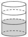 Задача 13 (№ 5590) - В бак цилиндрической формы, площадь основания которого 90