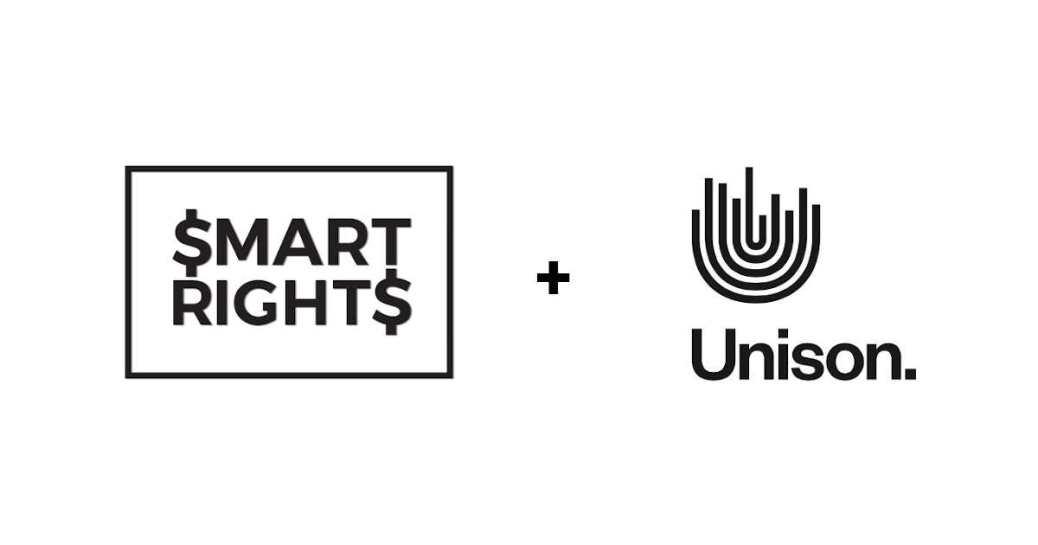 Acordo de parceria entre Smart Rights e Unison