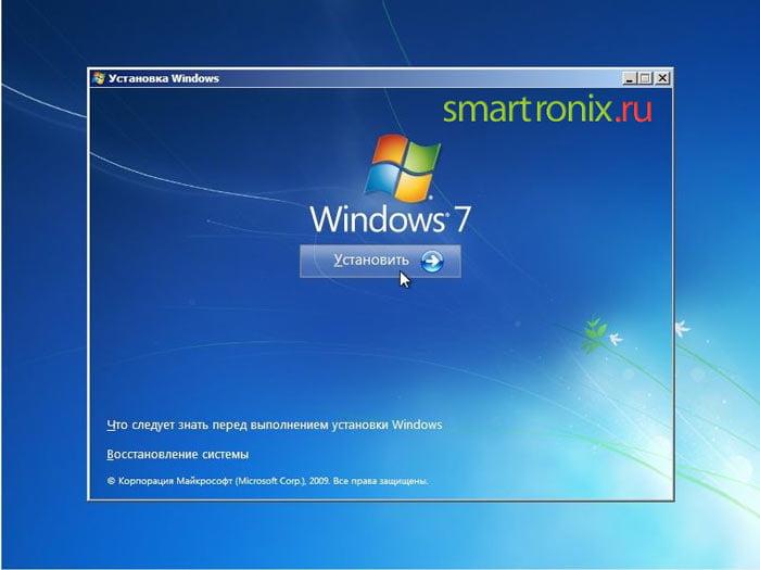 Как переустановить windows 7 на ноутбуке