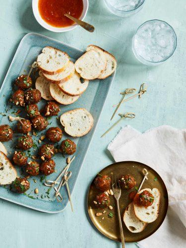 Spice Island Seasonings_Glazed-Moroccan-Meatballs Recipe