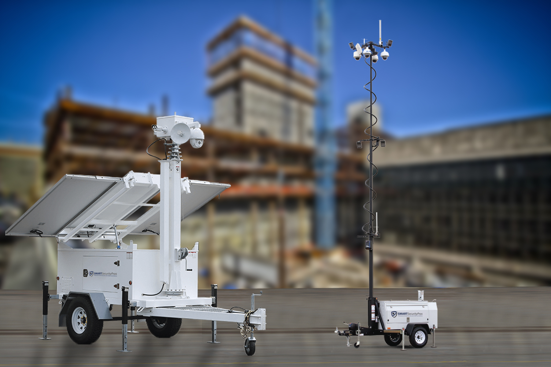Construction Site Security Using Mobile Video Guard