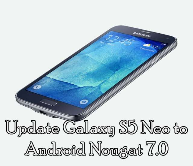 Update Galaxy S5 to Android Nougat 7.0 (G903W) [Telus Canada]