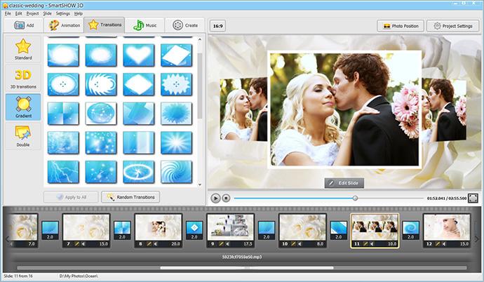 Wedding Reception Slideshow Ideas