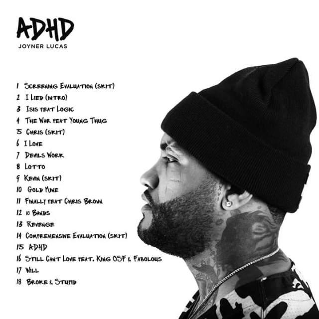 Album: Joyner Lucas – Adhd Album (Zip) is the latest song released by Album: Joyner Lucas – Adhd Album (Zip)