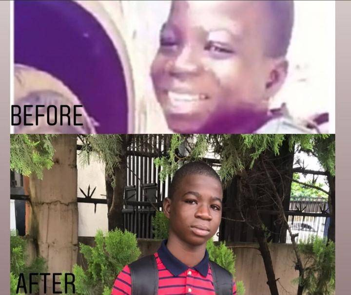 See The Recent Photos Of The Mechanic Boy Wizkid Sent To School 2 Years Ago 7