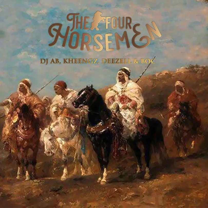 Dj Ab, Kheengz, Deezell & BOC – The Four Horsemen EP