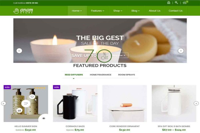 woocommerce wordpress themes premium