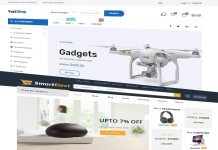 electronics store wordpress woocommerce themes