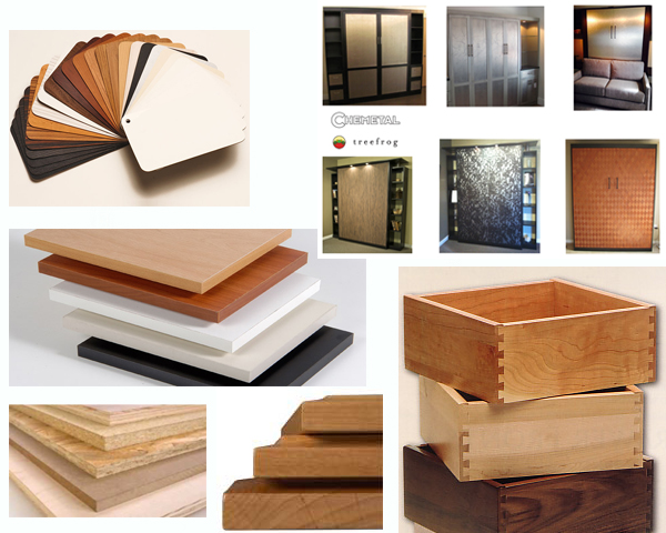 Murphy Wall Bed Material Options