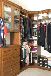 Closet Redesign Experts in Denver. Walk in closet, custom closet, small space experts, SmartSpaces.com