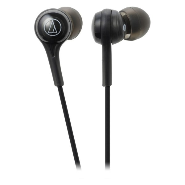 Audio-Technica Consumer ATH-CK200BT Wireless In-Ear Headphones with In-Line Mic Black