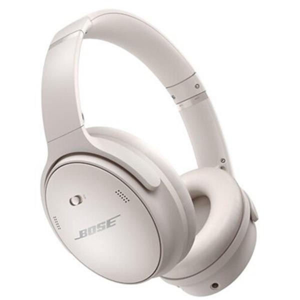 Bose QuietComfort 45 Noise-Canceling Wireless Over-Ear Headphones White Smoke