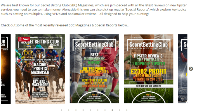 Secret Betting Club Review