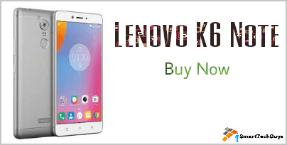 Lenovo K6 Note Buy Now