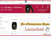 Jio eCommerce Store Launched