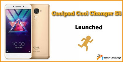 Coolpad Cool Changer S1 Launch Details