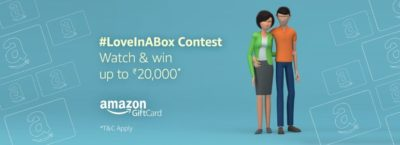 Amazon #LoveInABox Contest