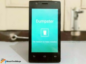 Dumpster - Recover deleted files on Android without computer