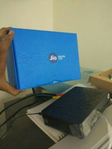 Jio Set Top Box Leaked Image 2: Jio DTH