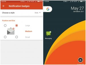 how to get Android O type Notification Dot on Any Android device