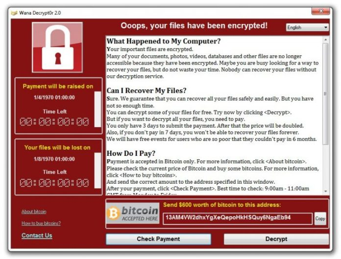 WanaKiwi: A fix for WannaCry Ransomware Infected PCs