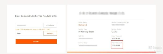 How To Track Repair Status Of Your Xiaomi Device On Mi.com 3